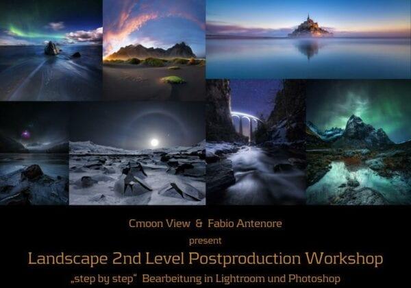 Second Level Postproduction Fotoworkshop mit Cmoon View 15.09.17