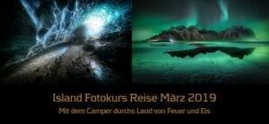 Abenteuer Fotoreise Island 08. – 15. März 2019