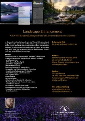 Landscape Enhancement Fotoworkshop 30.08.17