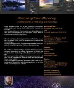 Photoshop Basic Workshop 16.06.17