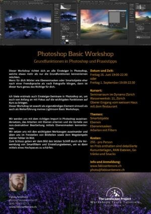 Photoshop Basic Workshop 01.09.17