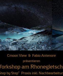 Praxis und Theorie Fotoworkshop am Rhonegletscher am 24.+25.6
