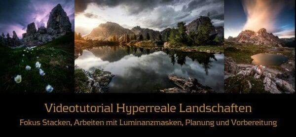Videotutorial Hyperreale Landschaften
